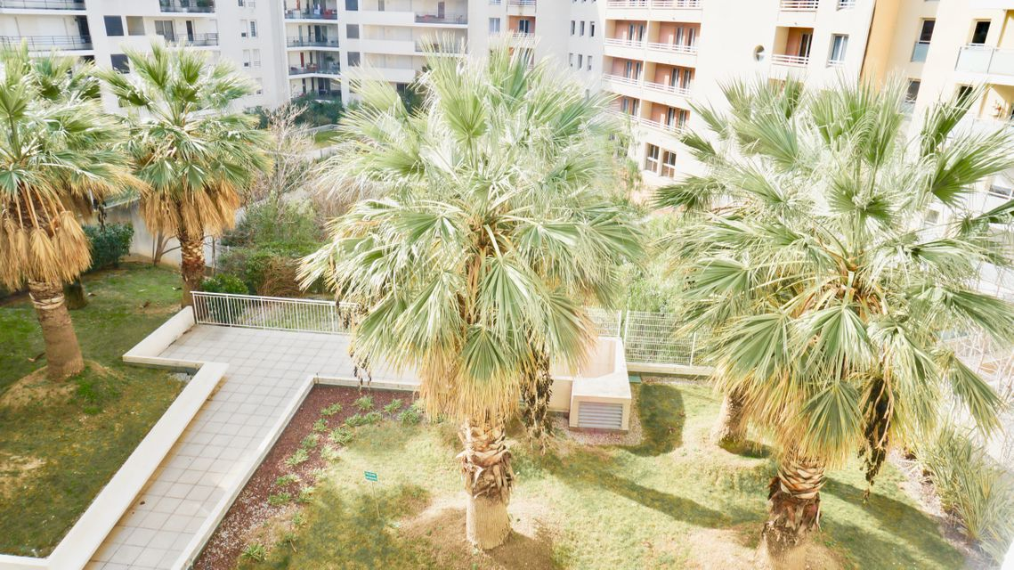 Jardin Appartement T3 Cantini Marseille